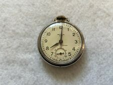 Made in Canada Westclox Dax Mechanical Wind Up Vintage Pocket Watch
