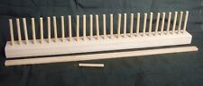 Peg Loom 70cm for  Wool Crafts, Rug Weaving, wool not included