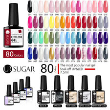 Ur Sugar 7.5ml Nail Uv Gel Polish Soak off Gel Nail Polish Glass Bottle Colorful