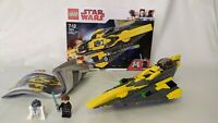 STAR WARS LEGO (75214) Anakin's Jedi Starfighter Complete  Box & Manual