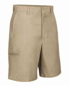 Red Kap Work Shorts Cell Phone Pocket Men's Industrial Uniform PT4C