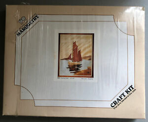 """Marquetry Kit 410 Evening Calm. 10 x 8"""" New Other. Art Veneers Co."""