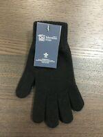 Men's Pure Cashmere Gloves | Johnstons of Elgin | Made in Scotland | Black