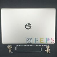 New HP 15-BS 15-BW 15Q-BU Top Case LCD Back Cover + Hinges L03439-001 924892-001