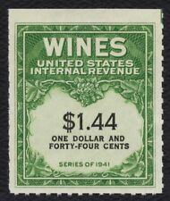 #RE147 $1.44 Wines, Mint NGAI NH [5] **ANY 4=FREE SHIPPING**