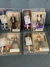 Neca KILL BILL 2nd Series Complete Bride set of Elle Beatrix Bill And Pai Mei