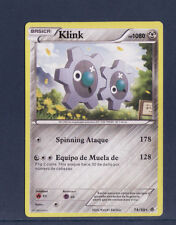 carte Pokemon  KLINK   rare  74/98  en Espagnol
