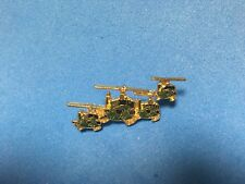 Us Army 4 Uh-1 Huey Helicopter'S Flying In Formation Hat Pin