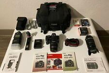 Canon EOS Rebel XS / 1000D 10.1MP Digital SLR Camera - Black w/ Accessories
