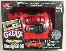 AMERICAN MUSCLE BODY SHOP GREASE '51 CHRYSLER HORNET RED 1:64! FREE SHIPPING