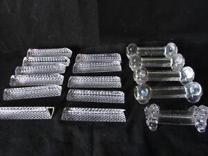 Vintage Lot 16 Portes couverts /en cristal /triangle /trèfle