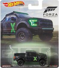 2019 Hot Wheels Retro Forza 2017 Ford F-150 Ranger 1/64 Diecast Car DMC55-956P