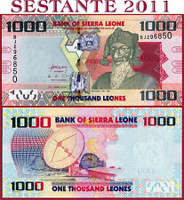 SIERRA LEONE - 1.000 1000  LEONES 27.4. 2010  -  P  30  -  FDS / UNC