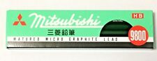Mitsubishi Pencil Co., Ltd pencil 9800 HB 1 dozen Black