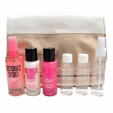 Victoria's Secret Gift Set Hair Care Shampoo Conditioner Travel Kit Bag Case New
