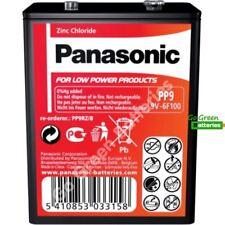 1x Panasonic Zinc Chloride PP9 9v-6F100 Battery Transistor Lantern Roberts Radio