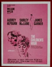 AUDREY HEPBURN - Individual Card # 06 - Movie Idols Set - THE CHILDREN'S HOUR