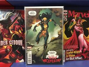All New Wolverine #1 1:15 Marquez Variant VF+