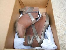 Naot Lucky Women Boots Ankle  Booties Leather  Wedge Fashion  BNWOB R.V $215.00