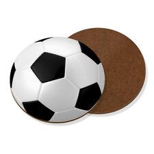 Football Ball Coaster Drinks Mat - Funny Sport Soccer