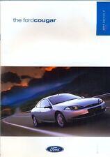 Ford Cougar 1999 Edition 2 UK market sales brochure