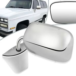 Fit 73-86 Chevy C10 GMC C15 OE Style Manual Door Mirror Left/Right GM1320103