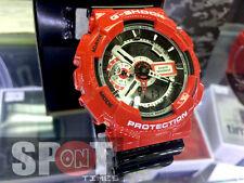 Casio G-Shock Red Theme Vivid Design Men's Watch GA-110RD-4A