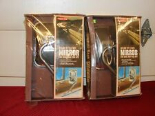 1970s VINTAGE NOS SIGNAL STAT STAINLESS STEEL MIRRORS CHEVROLET C/K FORD TRUCK
