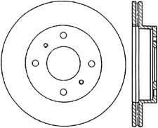 Centric Brake Disc Front Driver or Passenger Side New RWD 4-Wheel ABS 121.42057