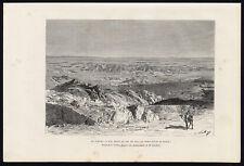 Antique Print-SAHARA-SFA-BISKRA-ALGERIA-AFRICA-VIEW-Reclus-Barbant-1886