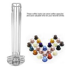 Pour Nespresso tournant 40 capsules rangement Porte-capsule de café Support