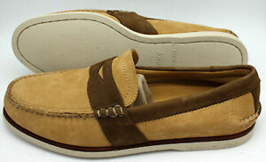 Sperry Top-Sider Men's Boat Shoes Slip-On Gold Cup Leather 11M Tan/Dark Brown