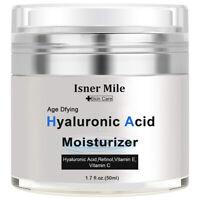 (HA) Hyaluronic Acid Gel Cream - Anti-Aging Wrinkle Face Serum Moisturizer
