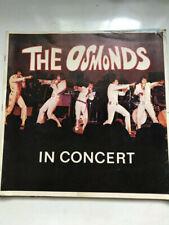 Osmonds Concert program 1972