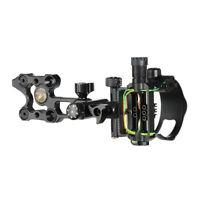 5 Pin Bow Sight Compound Bow Sight w/ Retina Lock Technology Archery Accessories