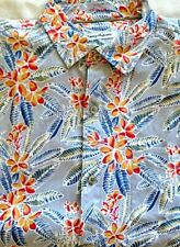 """TOMMY BAHAMA ~ MEN'S  SS """"FLORENCE FLORA""""  SHIRT~ SIZE LARGE NEW"""