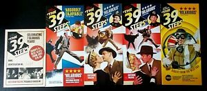 5 The 39 Steps at Criterion Theatre & Birmingham REP promotional leaflets/flyers