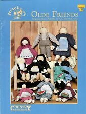 Olde Friends Appalachian, Amish & Old South Dolls Full Size Patterns
