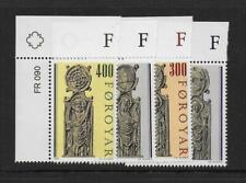 1984 Faroe Islands: Pews of Kirkjubour Chjurch (2nd Series) Sg90-93 Fine Mnh