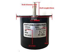 Synchronous Motor 60KTYZ AC220V AC240V 20 rmp/m CW/CCW 14W Torque 8kgf.cm