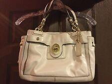 COACH 14522 Peyton Leather Carryall Bag Bone/Gold $358 Retail