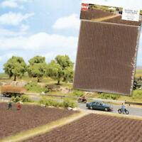BNIB BUSCH 7182 PLOUGHED FIELD LANDSCAPE SHEET FARM MODEL RAILWAY SCENERY OO