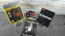 New listing MGS Metal Gear Solid 4: Guns of the Patriots PS3 UK PAL Complete Manual Platinum