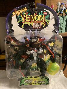 VENOM the Madness Action Figure SPIDER-MAN Planet of the Symbiotes MARVEL Toybiz