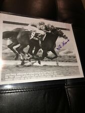 Willie Shoemaker Hand Signed Autograph Photograph Auto