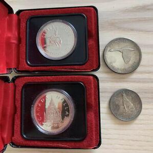 lot de pieces de monnaies Argent Canada SUP Etat