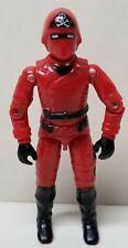 Vintage GI Joe UK Action Force Red Laser Cobra Commander Variant
