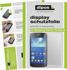 Samsung Galaxy S4 Active Schutzfolie matt Displayschutzfolie Folie Antireflex