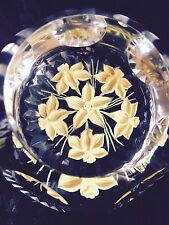 Caithness Whitefriars Daffodil Spray Limited Edition Proof Paperweight NIB w COA
