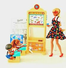 Teacher Barbie Classroom Playset Shelly & Tommy Vintage 1990s, Fully Working